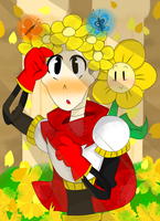 Buttercup flower crown -REDRAW- by wedginaa
