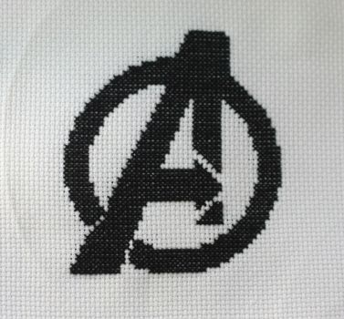 Avengers Cross-Stitch by Labely