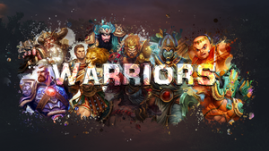SMITE - Warriors Wallpaper (Osiris Edition) by Getsukeii