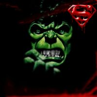 THE HULK VICTORIOUS by SUPERMAN3D
