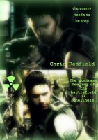 Chris Redfield by Angie010