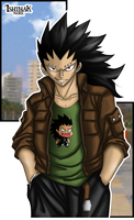 City Gajeel by Ishthak