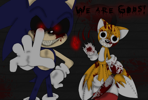 We are Gods!-Collab with Tailscream- by Xbox-DS-Gameboy