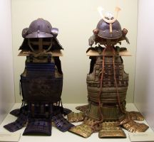 Antique Samurai Armors by ValerianaSTOCK