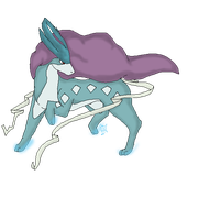 Suicune .:Pixel:. by moichao10
