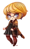 Abby - Chibi commission by clover-teapot