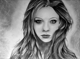 Michelle Trachtenberg: Fantasy by OKhulood