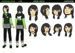 Character Design: Magdalena by Green-Fighter