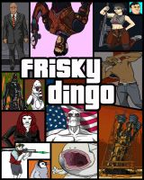 Frisky Dingo GTA Cover Art by MrBlackDeath