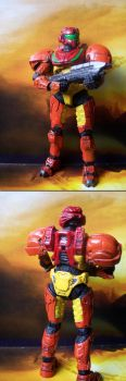 Varia Suit Spartan Front-Back by MarkieMarky