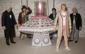 The Five Doctors by CyberDrone