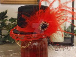 Mini Top Hat: Seraphine by Crossed-Wire-Designs