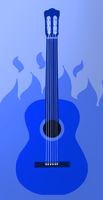 Blue Guitar by Jetultra