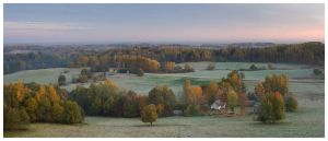 Autumn in South-Estonia by andresT73