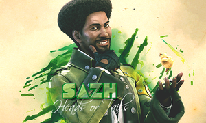 Sazh by BlueFenixDz