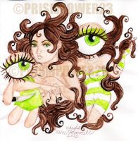 Green Eyes by prismpower23