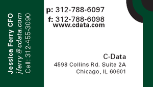 C-Data Business Card by SineSpes