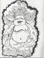 Buddha Guy by just-betsey