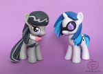 Ms. Melody and Ms. Scratch (FOR SALE) by Amandkyo-Su