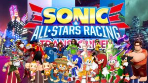 Sonic And All Stars Racing Transformed-New Renders by FARetis