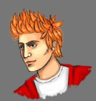 Realistic Philip J. Fry from Futurama by BlazeTheConqueror