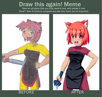 Improvement meme by Rainbowshi