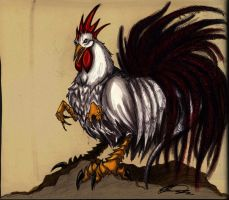 Chinese Zodiac: Rooster ::COLOR:: by Thevakien