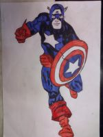 Captain America - finished by galis33