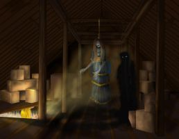 Mama Contest-Something in the Attic by Dracophile
