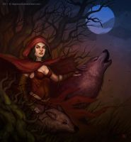 Red Riding Hood Horror by DavidHakobian