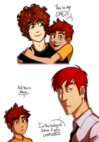 Robin Explains His Family by AnArtistCalledRed