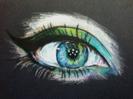 Beautiful Eye by dARk-knighT4
