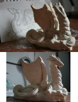 Steph's Dragon, unpainted by meaikoh