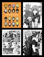 Kingdom Hearts II doujinshi by MKage