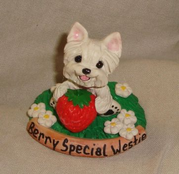 Berry Special Westie by ErinsK9Collectibles