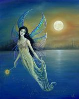 Blue Moon Fairy by BKLusk
