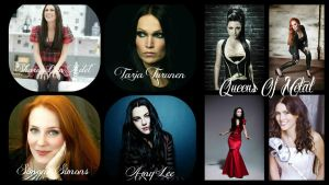 Queens Of Metal Wallpaper II by CrazyEvilGirlie