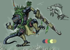The Jungle Reptile Azar by MarvelousCoconuts