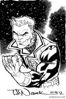 Green Lantern: Guy Gardner by ToddNauck