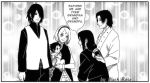 The first meeting Satoshi with his grandparents by byBlackRose