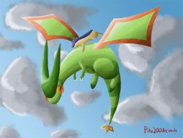 Flying with Flygon by pito200decimals