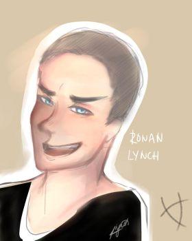 The Raven Boys: Ronan Lynch by Synccantia