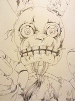 Spring Trap FNAF - Uncoloured by lemony-kitty