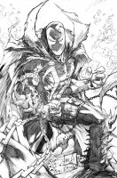 Spawn 2013 Pencils by hanzozuken
