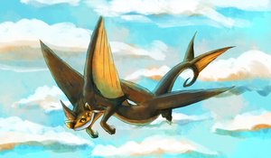Des Flight by WindieDragon