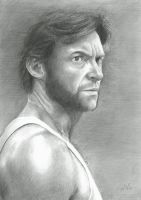 Hugh Jackman by scratch12