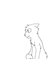 Cat lineart? by Anonymous-Kuro