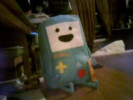Beemo - Plushie! (WIP) by Kiocah