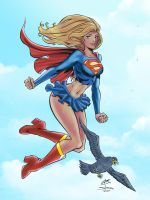 Supergirl WWC - Colours by g45uk2