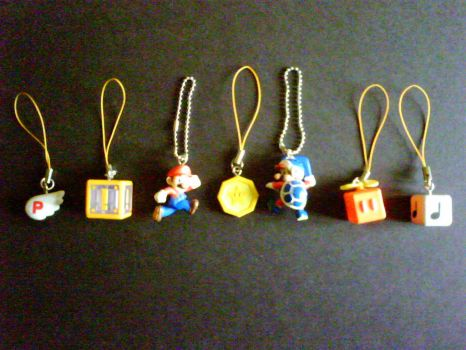 Super Mario 3D Land Collectibles by shnoogums5060
